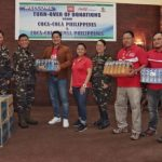 Coca-Cola PH provides daily beverage supply to soldiers in Marawi