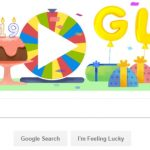 Google celebrates 19th year with surprise spinner doodle