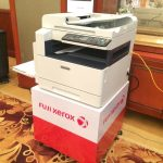 Big features of the compact Fuji Xerox DocuCentre 2110