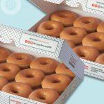 Krispy Kreme PH sells a dozen doughnuts for P100 on December 12, 19, 21, 26, and 28