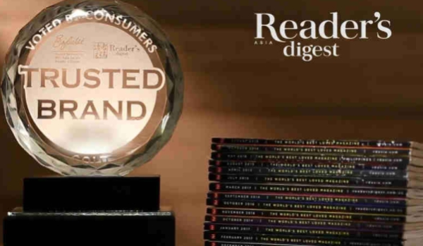Readers Digest Gratisverlosung 2018: Reader's Digest Asia Announces The Most Trusted Brands In