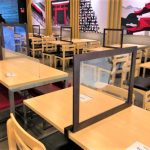 In photos: Dine-in setup of fast-food chains in GCQ areas